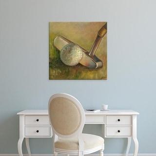Easy Art Prints Ethan Harper's 'The Putter' Premium Canvas Art