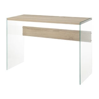 Link to Porch & Den Urqhuart Glass Console Table Similar Items in Living Room Furniture