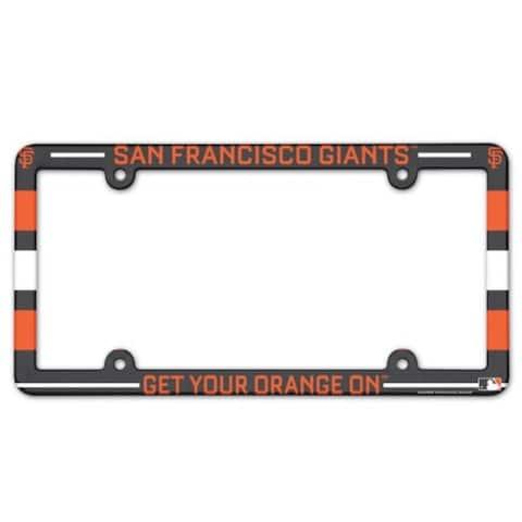San Francisco Giants License Plate Frame - Full Color - Multi