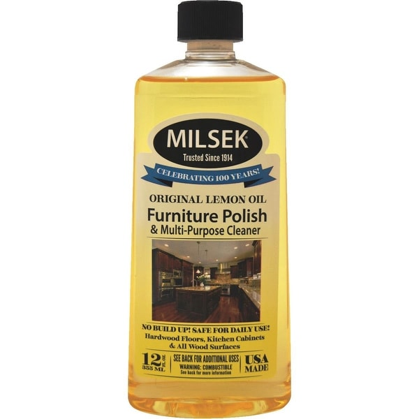 Shop Milsek 12oz Lemon Furn Polish Free Shipping On