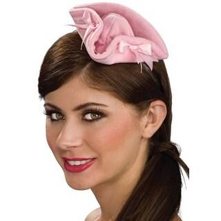 Pink Mini Pirate Mini Costume Hat One Size