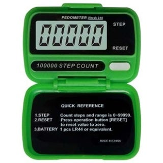 Ultrak 240 - Electronic Step Counter Pedometer - Green|https://ak1.ostkcdn.com/images/products/is/images/direct/800249968a49ba14eabe89ca1f43727f6af92928/Ultrak-240---Electronic-Step-Counter-Pedometer---Green.jpg?_ostk_perf_=percv&impolicy=medium