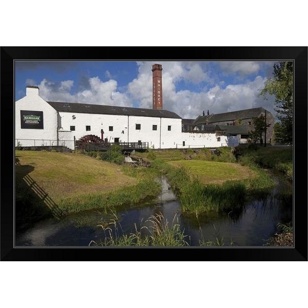 """Locke's Irish Whiskey Distillery, Kilbeggan, County Westmeath, Ireland"" Black Framed Print"