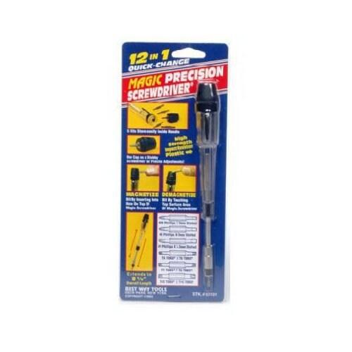 BWT 60101 Magic Precision Screwdriver 12-In-1