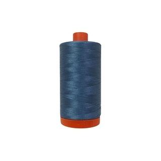 Mk50sc6 1126 Aurifil Ctn Thread Mako 50wt 1300m Blue Grey