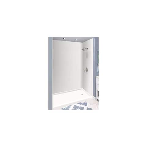 "Transolid Expressions 32-in X 60-in X 96-in Glue to Wall Shower/Walls - 60"" x 32"" x 96"""