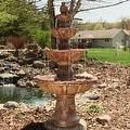 Sunnydaze 4-Tier Pineapple Fountain, 52 Inch Tall - Thumbnail 10
