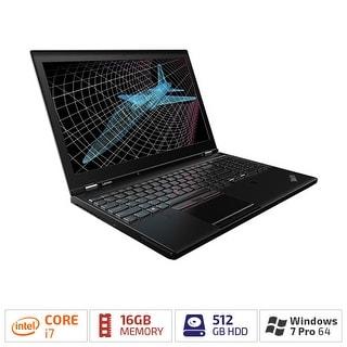 "Lenovo ThinkPad P50 20EN001FUS 15.6"" (In-plane Switching (IPS) Technology) - Intel Core i7 (6th Gen) i7-6820HQ Quad-core (4"