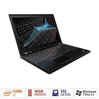 """Lenovo ThinkPad P50 20EN001FUS 15.6 (In-plane Switching (IPS) Technology) - Intel Core i7 (6th Gen) i7-6820HQ Quad-core"