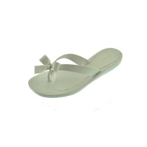 f1052ea5cfd3f9 Shop Guess Womens Tutu Flip-Flops Bow Thong - Free Shipping On ...