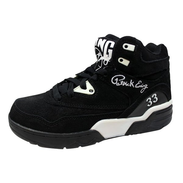 Ewing Men's Ewing Guard Black/White-Gum 1EW90055-018 Size 5