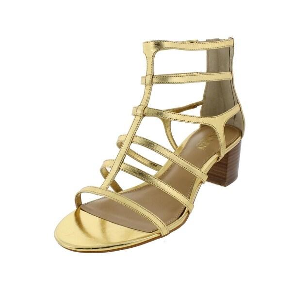 Lauren Ralph Lauren Womens Madge Gladiator Sandals Casual Stacked - 9 medium (b,m)