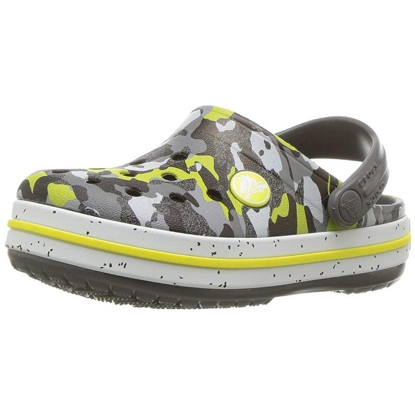3692ff755c134 Shop Crocs Kids' Crocband Camo Speck Clog - Free Shipping On Orders ...