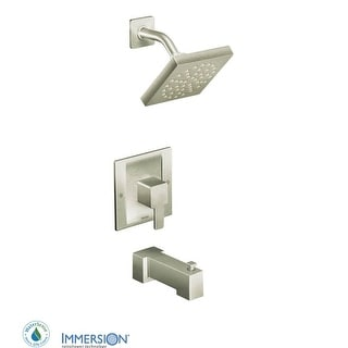 Moen TS2713EP  Posi-Temp Pressure Balanced Tub and Shower Trim with 1.75 GPM Shower Head and Tub Spout from the 90 Degree