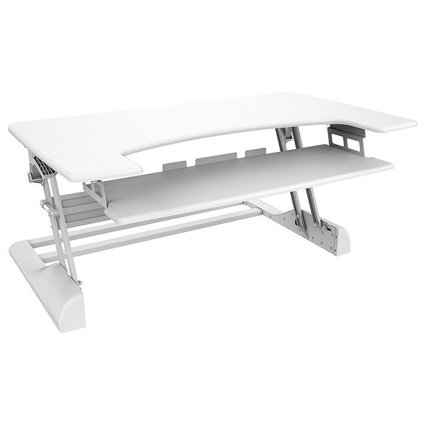 Ergotech Group, Inc. - Sit-Stand Supports 10-30 Lbs. Displays Up To 30Inch Wide. Pneumatic Cylinder