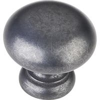 Elements Z6001 Geneva 1-1/4 Inch Diameter Mushroom Cabinet Knob