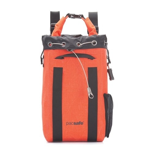 Pacsafe Travelsafe 15L - Orange Anti-theft Waterproof travelsafe