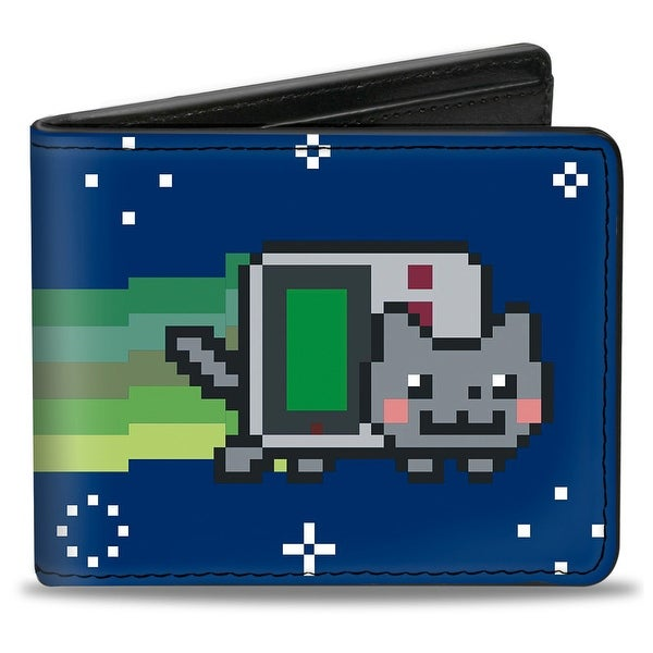 Gameboy Nyan Cat Bi Fold Wallet - One Size Fits most