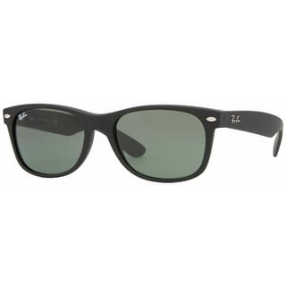 Ray-Ban Men's Gradient New Wayfarer RB2132-622-55 Black Wayfarer Sunglasses