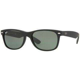 Ray-Ban Men's Gradient New Wayfarer RB2132-622-55 Black Wayfarer Sunglasses