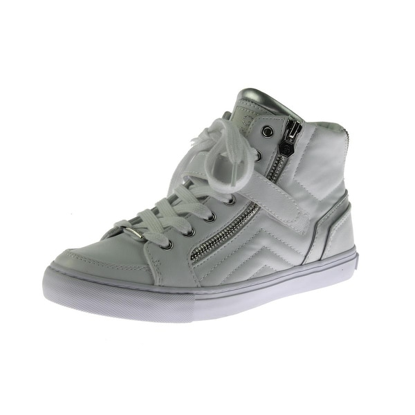 3c5b5c73bc1 Shop G by Guess Womens Ojay Fashion Sneakers High-Top Casual - 6.5 medium  (b
