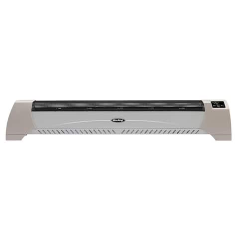 "Air King 8820C 39-3/4"" Wide 5118 BTU 1500 Watts 120 Volts Baseboard Heater with Adjustable Thermostat and Timer - Beige"