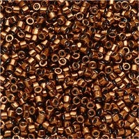 Miyuki Delica Seed Beads 11/0 - Galvanized Copper Dyed DB461 7.2 Grams