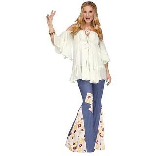 Hippie Gauze Costume Top Adult Women Standard