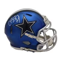 Cole Beasley Autographed Dallas Cowboys Blaze Mini Helmet FAN