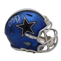 Cole Beasley Autographed Dallas Cowboys Blaze Mini Helmet FAN