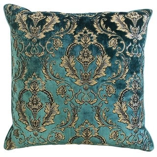 Link to Rodeo Home Beatrice Damask Cut Velvet Throw Pillow Similar Items in Decorative Accessories