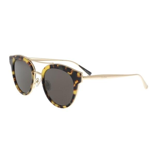 cd7dde38757d Shop Max Mara ILDE IV 0086 Dark Havana Cat Eye Sunglasses - 48-21 ...