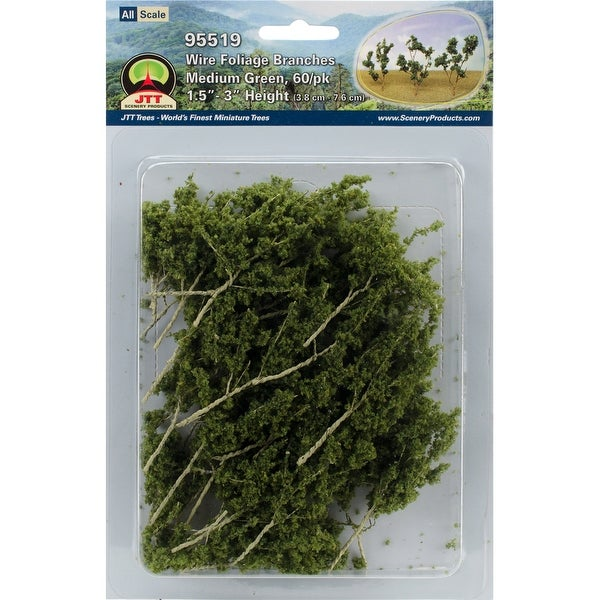 """Foliage Branches 1.5"""" To 3"""" 60/Pkg-"""