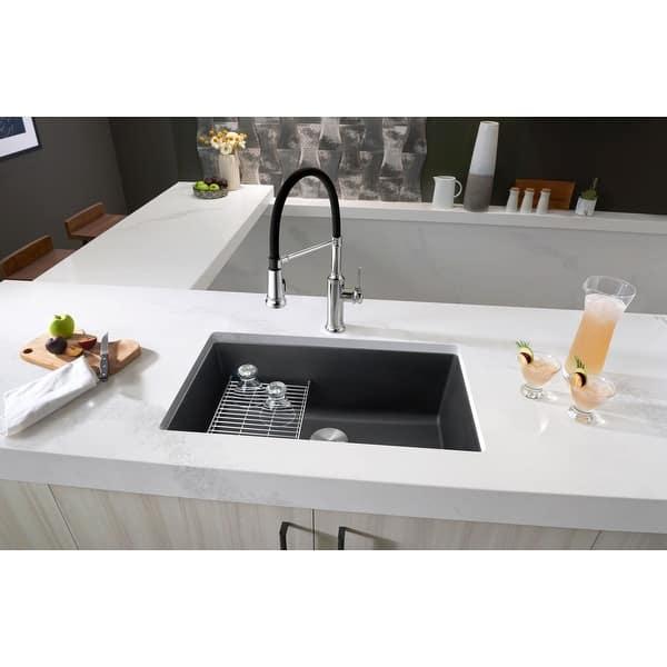 Blanco 442533 Precis 30 Undermount Single Basin Silgranit Kitchen Overstock 23503736