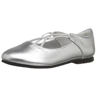 Jumping Jacks Girls Kendra Ballet Flats Leather