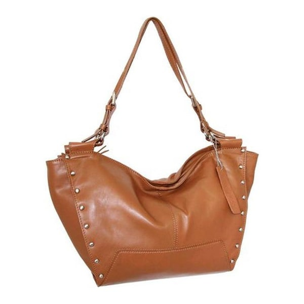 Shop Nino Bossi Women s Adriana Leather Hobo Handbag Cognac - US Women s  One Size (Size None) - Free Shipping Today - Overstock.com - 25669374 2612f37a2910d