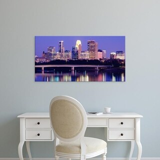 Easy Art Prints Panoramic Images's 'Minneapolis MN' Premium Canvas Art