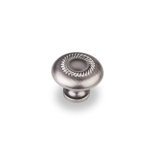 Elements Z118 Cypress 1-1/4 Inch Diameter Mushroom Cabinet Knob (4 options available)