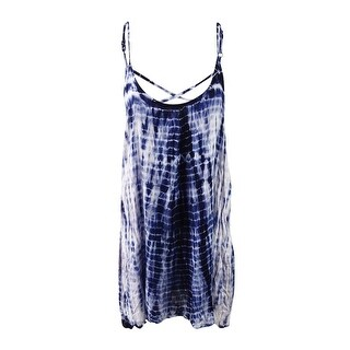Raviya Women's Tie-Dyed Crisscross Back Cover-Up (4 options available)