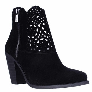 Jessica Simpson Cachelle Cutout Ankle Booties - Black