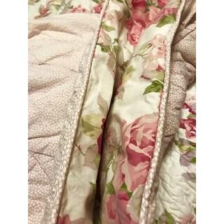 Laura Ashley Lidia Cotton 3-piece Reversible Quilt Set