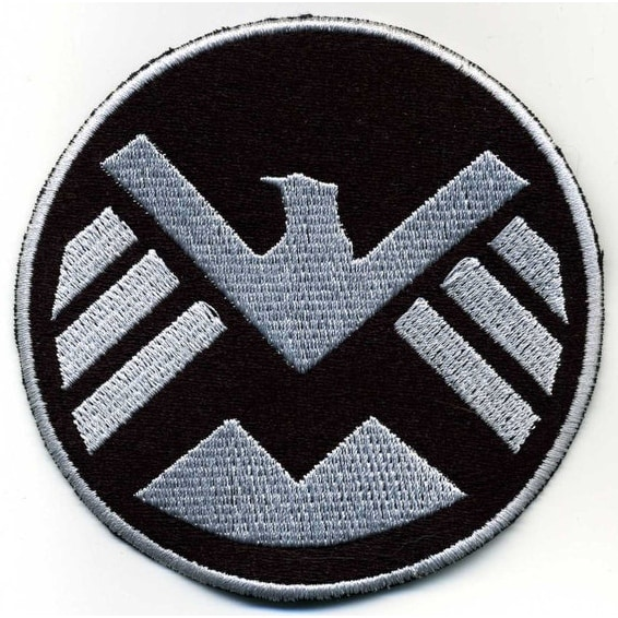 Marvel S.H.I.E.L.D. Patch - Black