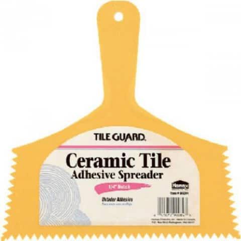 "Tile Guard 00084 Adhesive Spreader for Vinyl Flooring & Floor Tile, 8"""