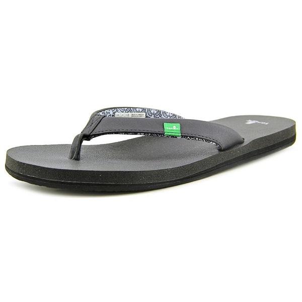 Sanuk Yoga Zen Open Toe Synthetic Flip Flop Sandal