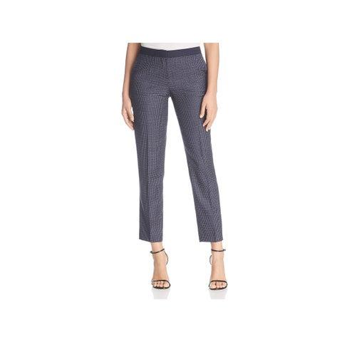 Hugo Boss Womens Dress Pants Straight Leg Ankle