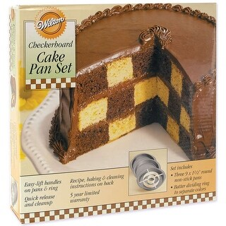 Checkerboard Cake Pan Kit