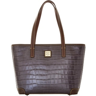 Dooney & Bourke Croco Charleston (Introduced by Dooney & Bourke at $248 in Jul 2016) - Grey