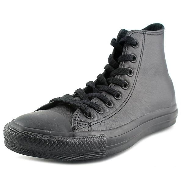Converse Chuck Taylor As Hi Men Round Toe Canvas Black Sneakers