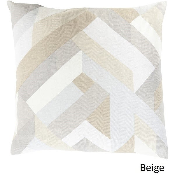 Shop Decorative Altadena 18-inch Feather Down or Polyester Filled Pillow - 11322100