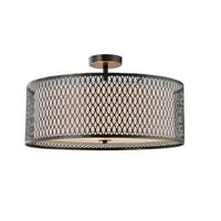 Woodbridge Lighting 16635 3 Light Semi-Flush Ceiling Fixture from the Spencer Collection
